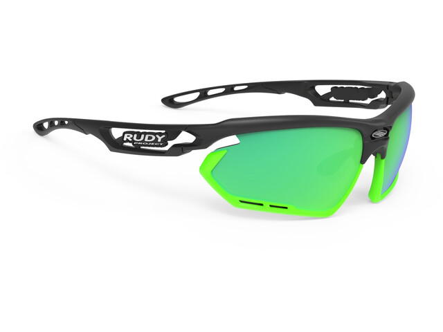 Rudy Project Fotonyk Lunettes, matte black/lime/polar3FX HDR multilaser green